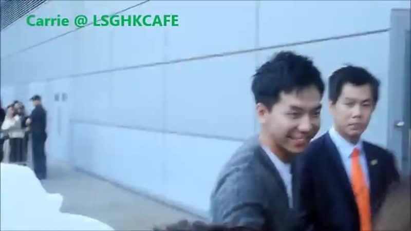13 11 23 Hong Kong Airport Fancam 4 Lee Seung Gi ch1FCG 9zQk