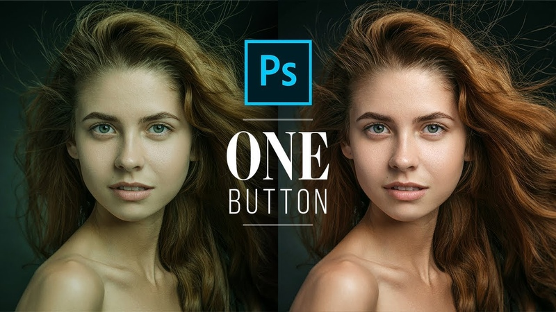 Fix Skin Tones with One Button in Photoshop