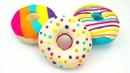 Пластилин плей-до учимся лепить пончики