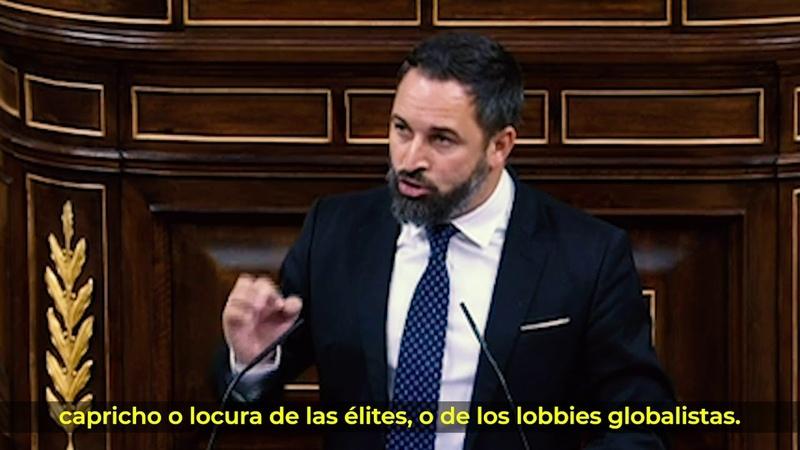 ⚡ Santiago Abascal contra el consenso globalista