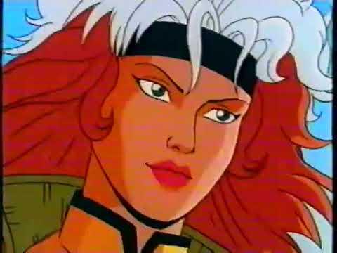 Люди Икс русская заставка мультсериала X Men intro 1992 Озвучка VHS 90 х