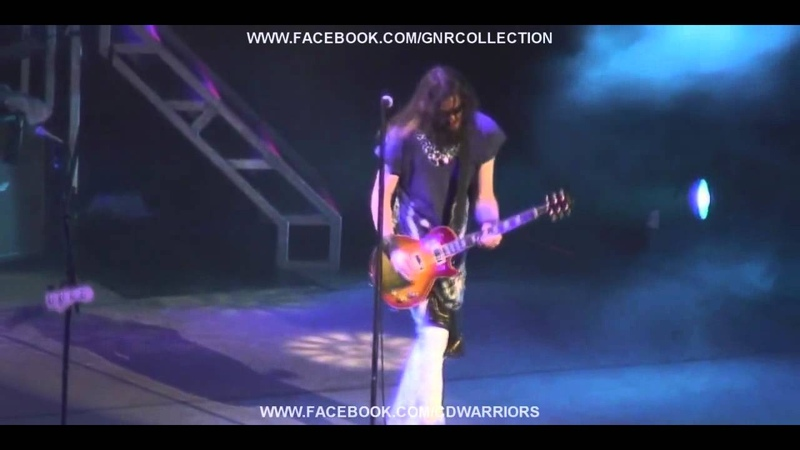 Robin Finck Sweet Child O' Mine Solo Guns N' Roses live in Los Angeles 2006