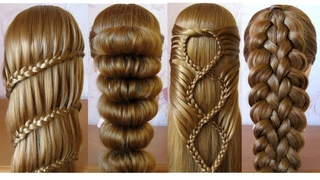 Most Beautiful Hairstyles for girls ♥️ Easy Hairstyles ♥️ Coiffures simples et belles
