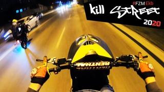 KillStreet на Yamaha Slider VS Aerox #FZM Закрыл скутер сезон Екатеринбург октябрь 2020