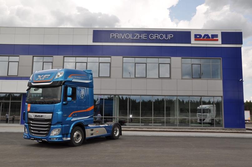 Автотехцентр автомобилей «DAF» уже построен и работает