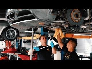 Bugatti Veyron - замена масла за $21000