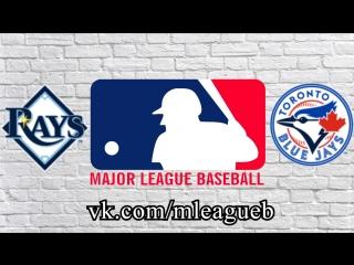 Tampa Bay Rays vs Toronto Blue Jays      AL   MLB 2018 (2/3)