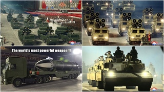North Korea Military Parade 2021: 8th Congress of the Workers' Party of Korea - Best Moments