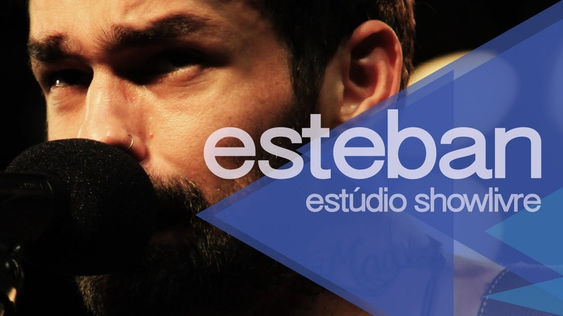 Sinto muito blues Esteban no Estúdio Showlivre 2014
