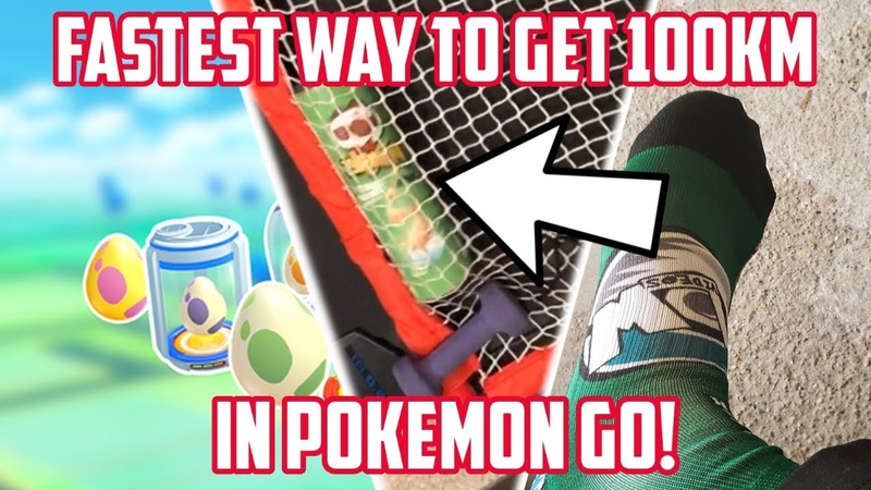 Fastest Way To Get 100KM In Pokemon Go 100 000 Subscriber Special